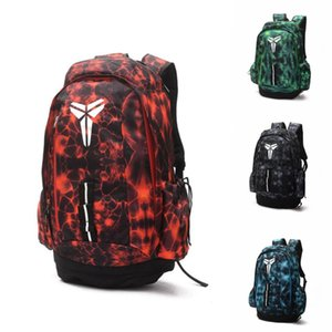 Wholesale Brand New Kobe Backpack ss Kobe Bryant Mens Womens Designer Bags Teenager Black Red Outdoor Basketball Backpack Colour