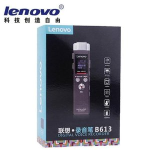 Wholesale Original lenovo B613 Micro Digital Mp3 player Long Distance Noisere duction with HiFI for meeting voice recorder pen