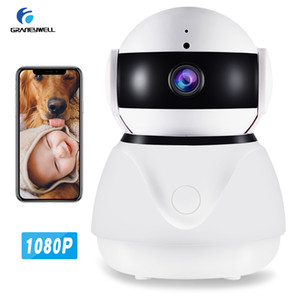 Wholesale Wifi Camera 1080P Security Camera Smart Night Vision 2MP CCTV Camera Baby Monitor Home Security Surveillance Cameras System Wireless