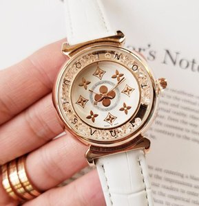 Brand Designer women watches Fashion Leather strap Classic Wrist watch for Ladies best Valentine gift XXL