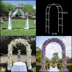 Wholesale Steel pipe material Wedding Arch Pergola Garden Metal Backdrop Stand For Marriage birthday wedding Party Decoration DIY Arch