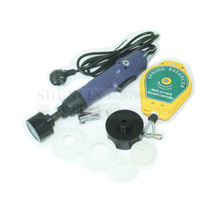 Hand held bottle capping machine 10-50mm electric capping tool can capper 220V