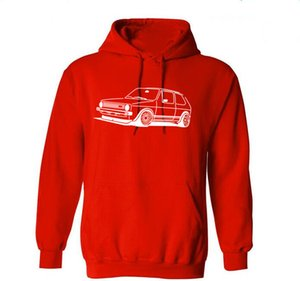 golf gti оптовых-GOLF GTI V W MARK ONE CAR HOODIE DTG ALL SIZES COLOURS v33