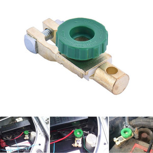 Wholesale copper battery terminals resale online - Car Copper Battery Terminal Link Switch Quick Cut off Disconnect Isolator Switch Car Truck Vehicle Auto Car Accessories