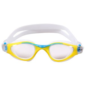 Wholesale UV Protection Waterproof Kids Swim Goggles Silicone Frame Child Swimming Goggles Pool Accessories Glasses
