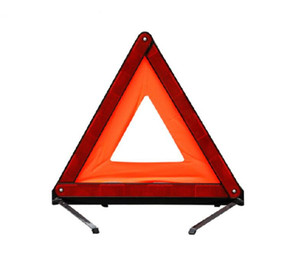 New Fashion Portable Triangle Shape High Reflective Car Warning Sign Reflector Fashion Traffic Safety Free Shipping on Sale