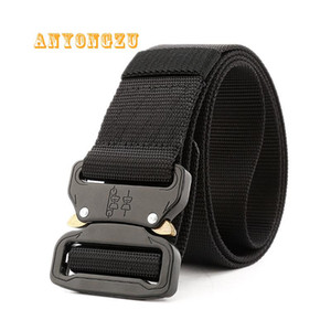 Wholesale New Quick Release Buckle Safety Belt Fast Dry Nylon For Training cm High Quality Zinc Alloy Buckle Men Belt