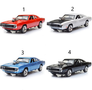 Wholesale MINI AUTO Dodge Charger The Fast And The Furious Alloy Car Models kids toys for children Classic Metal Cars L