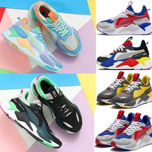 Wholesale Men Women RS X Reinvention Running System White Black Blue Red Yellow Shoes Athletic Fashion Sneakers Jogging Sports Shoes