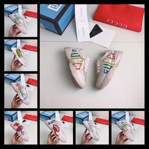 Wholesale Luxury Kids Shoes Slip on Loafers Girls Flat Colorful for Boys Shoes Rubber Sole Casual European Size