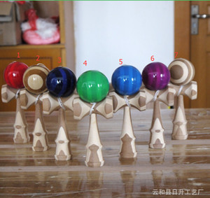 Wholesale Good Quality Skill Toy Ball Bamboo Jumbo Kendama Juggle Game Ball Jade Sword Ball for Adult Japanese Traditional Toy