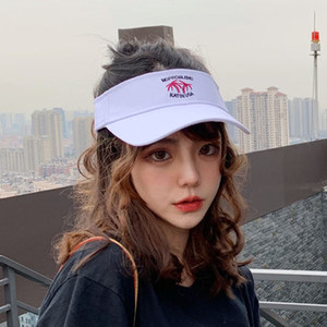 free shipping new fashion golf hat sun visor sunvisor party hat baseball cap sun hats sunscreen hat Tennis Beach elastic hats on Sale