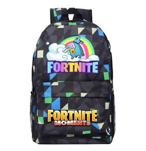 Wholesale On Sale sets Casual Shoulder Bag Game Movie Cartoon Backpack Breathable Lightening Glowing Unisex Sports Backpack Halloween Birthday B285