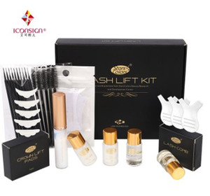 wimpern perme großhandel-Heißer Verkauf Fast Perm Lash Lift Kit Make upbeminer Wimpern Perming Kit Musterversion Lash Lift Kit