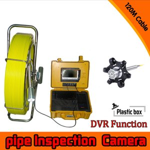 Wholesale 120M Cable Well Use degree rotation camera with DVR function Sewer Inspection Camera waterproof underwater For