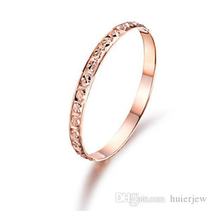 Wholesale Wedding Rings Cluster Rings babysbreath Fashion Jewelry Brand Design K Rose Gold Cluster Rings