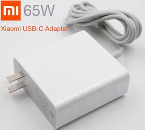 Wholesale Original Xiaomi Mi USB C Charger W Output Rate Socket Power adapter Type C Port USB PD Quick Charge QC Type C laptop