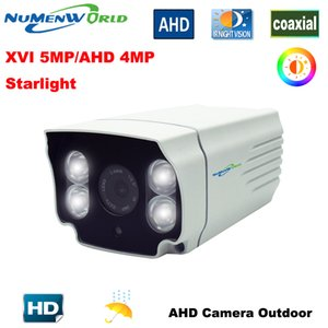 Wholesale Surveillance Analog Best Outdoor AHD XVI5MP AHD MP HD CCTV Security Camera White light LEDs full color at Night Vision