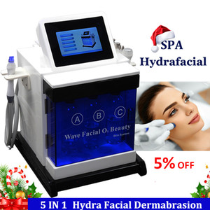 Wholesale facial microdermabrasion resale online - Water Oxygen Hydra Facial Machine Hydro Microdermabrasion Skin Care Rejuvenation Spa Hydrafacial Wrinkle Removal Treatment Hydra Machine