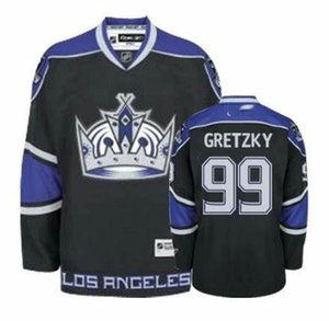 Wholesale Los Angeles Kings Wayne Gretzky Drew Doughty Marty Mcsorley Hockey Jersey Embroidery Stitched Customize any number and name Jerseys