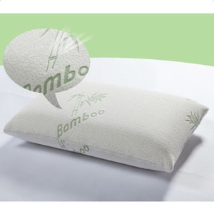 Hypoallergenic Bamboo Fiber Memory Foam Pillow with Washable Pillow Case Sleeping Bamboo Memory Foam Pillows