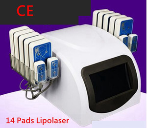 Wholesale Diode Lipo Laser LLLT Fat Burning Anti Cellulite Body Sculpting Pads Weight Loss Beauty Slimming Machine Spa