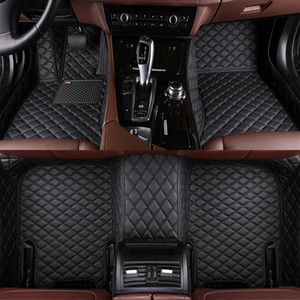 made car floor mats for Kia Sorento Sportage Optima K5 Forte Cerato K2 K4 K3 Cadenza leather carpet liners Non-slip Car Liner on Sale