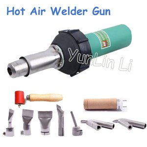 Wholesale 1600W Hot Air Welder Gun V V Plastic Welding Torch Hot Air Welding Machine Plastic Welder Gun LST1600