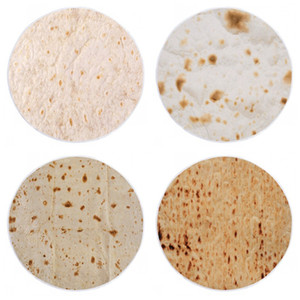 Wholesale Tortilla Carpet Mexico Tortilla Tassels Style Blanket Camping Picnic Living Room Circular Mat Keep Warm New Arrival yd C1