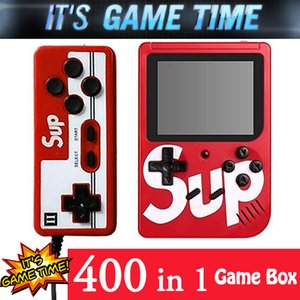 Wholesale SUP mini Game Box in Plus Led Color Screen Players Handheld Game PAD Super Mario Contra Jackal