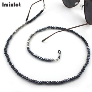 Wholesale New Fashion Anti slip Glasses Chain Acrylic Beaded Eyeglass Acrylic Beaded Reading Glasses Cords Lanyard Straps Eyewear Retainer