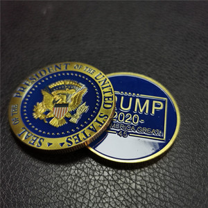 Wholesale Donald Trump Keep America Great Commemorative Challenge Coin Business Gifts Crafts Decorations