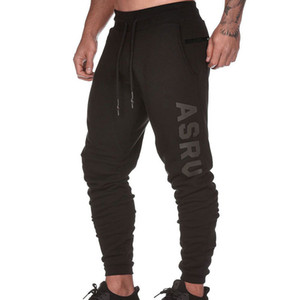 Wholesale Men s Spring Autumn ASRV New Casual Long Sports Pants Loose Breathable Printing Male Training Trousers Size M XL