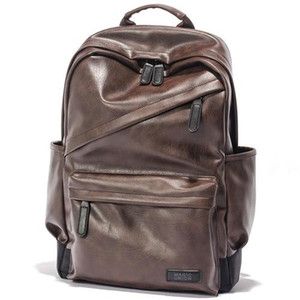 Wholesale man backpacks resale online - Designer MAGIC UNION Men Patent Leather Backpack Men s Travel Bags Men s Leather Backpack Western College Style Backpacks School