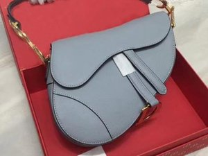 Wholesale hot sale women luxurious famous designer womens handbag new ltter shoulder bag high quality genuine leather Messenger bag saddle bage bag
