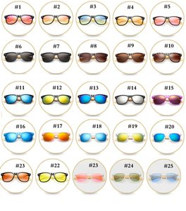 Wholesale 47 Color Wooden Polarized Sunglasses Bamboo Legs Fashion Sunglasses Outdoor Riding Glasses Mens And Women Sunglasses MMA2113