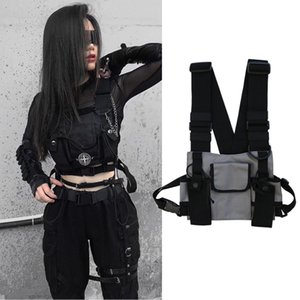 Wholesale Nylon fashion women messenger bags out small Waist pack men trend Chest bag waterproof street travel shoulder bags