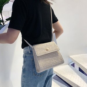 Wholesale OCARDIAN Handbag Simple Woman Trendy Weave Mini Flag Shoulder Bags Ladies Retro Countryside Leisure Crossbody Bags Dropship a30