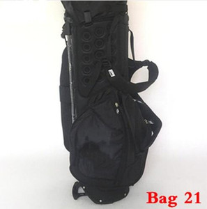 Wholesale Blue White Blue Color title Golf Bag Jackpot Johnny Golf Rack Bag Men Women Standard Ball Package Putter Driver Irons Wedge