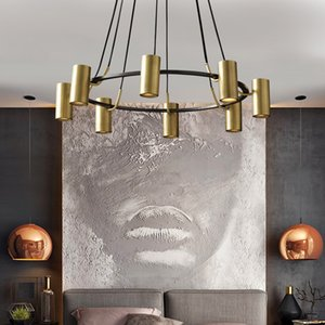 Wholesale retro modern home decor for sale - Group buy Retro Loft Iron Chandelier Lighting Modern Spot Chandelier For Living Bedroom Room Vintage Home Decor Light Fixture