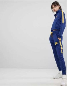 Wholesale Autumn women s full zip tracksuit women NIKE sport suit white cheap women sweatshirt and pant suit hoodie and pant set sweatsuit
