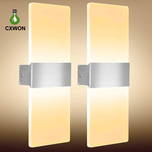 Wholesale bathroom lighting for sale - Group buy New Wall Light Acrylic Square Sconce Corridor Balcony Aisle Wall Lamp Living Sitting Room Foyer Bedroom Bathroom Lighting v w