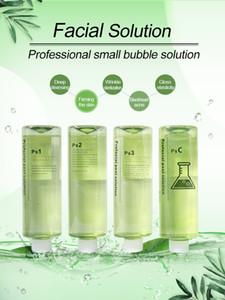 Wholesale Micro dermabrasion peeling solution 4 bottles 500ml per bottle skin care liquid spa use