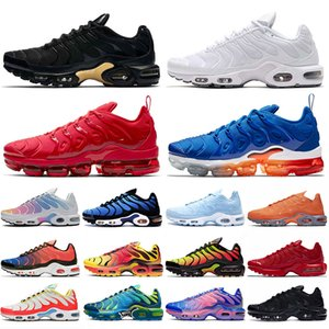max schuhfarbe großhandel-nike air max tn plus tn vapormax plus off white Mercurial Ultra Womens Herren Laufschuhe Lemon Lime Color Flip Pack Hyper Blue Sportschuhe Turnschuhe