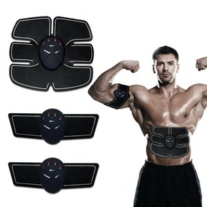 Wholesale EMS Treatment Fitness Electric Pulse Massager Wireless Muscle Smart Machine Tens Muscle Exerciser Intensive Training DeviceMX190930