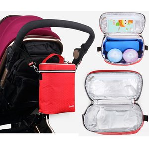 Wholesale Baby Stroller Bag Multifunctional Maternity Bags For Mommy Fresh keeping thermal bag fashion new