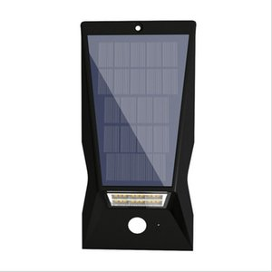 Wholesale New solar body induction wall lamp LED solar garden light mAh lawn light LED street light