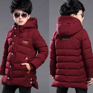 Wholesale 2019 New Winter Clothing Boys Keep Warm Children Autumn Winter Coat Middle Aged Year Pile Thicker Cotton Jacket CJ191205