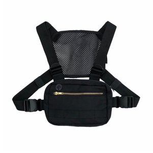 Wholesale Hot Small Functional Tactical Chest Bag for Men Fashion Mini Chest Rig Tactical Vest Streetwear Shoulder Bag Waist Fanny Pack