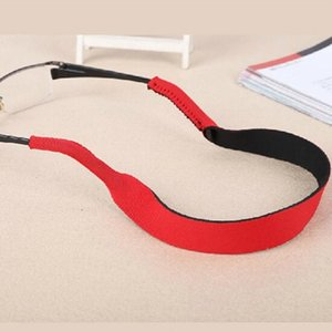 Wholesale HOT Spectacle Glasses Anti Slip Strap Stretchy Neck Cord Outdoor Sports Eyeglasses String Sunglass Rope Band Holder cm